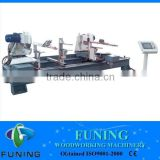 double end miter cutting saw for wood