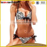 Micro sex ladies swimwear beachwear sexy g-string brazilian bikini with halter