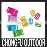 "New arrived 1"" plastic buckle and tri-glide for backpack nanjing supplier"
