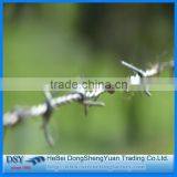 Traditional Twist Hot Dipped Galvanzied Barbed Iron Wire/Barbed Wire Fence Mesh(Factory)