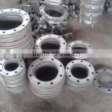 Backing ring flange for PE pipe