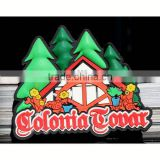 TOURIST SOUVENIR decorative refrigerator magnets,Customized Rubber Colonia Tovar Venezuela FRIDGE MAGNET ---DH20730