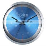 12 inches decorative wall mounted clock, aluminium clock