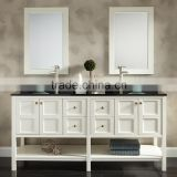 E1 Particleboard / Plywood / MDF custom 42 discount double sink bathroom vanity cabinets