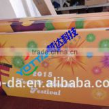 UV Led Printer UV Flatbed Printer 5 Color Inkjet PVC Card Printing Machine, PVC Digital Printing Sheet