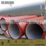 k9 flanges ends ductile iron pipes