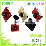 wholesale 2014 DVR-300 Car DVR with 1080P H.264 Wide Angle Camera,Tachograph with HDMI HD output and control on car DVD player