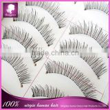 false eyelashes 10 pair/wholesale false eyelashes made in taiwan products hand-knitted false eyelashes