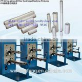 popular PP yarn string wound filter making machine for chemical