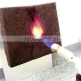Nonflammable recyclable carbon fiber for bed comforters of various types