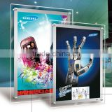Acrylic light box with led letter / Indoor Advertising LED acrylic poster frame                                                                         Quality Choice