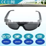 YSJ SM15 very very hidden cool Glasses camera CMOS Mini 5 Pin USB HD 1280*720P 30fps VGA support TF card multicolor