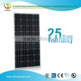 Mono-crystalline solar panel 100W-300W mono solar panels from solar panel leading manufacturer