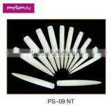 12 size white and nature stiletto half covered long tips of Acrylic nail tips