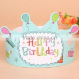 Novelty Products For Sell Birthday Crown Hat 4x6 For Little Prince paper hat for decoration