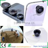 camera lens kit magnetic lens mount 180 degree fisheye+0.67x wide-angle+macro photography tool set for iphone ipad samsung htc