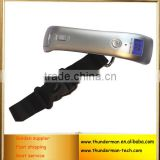 50kg Digital Travel Luggage Scale with Blue LED back light for Luggage, Travel and Home Using