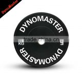 Dynomaster HG Economic Rubber Bumper Plate Black Bumper Plate Set