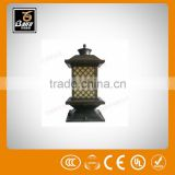 pl 2268 mc3 mc4 solar pv connector cable pillar light for parks gardens hotels walls villas