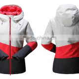 Ladies two clothing set with down jacket in lining and windproof jacket out down jacket women winters