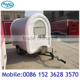 New Tow Food Cart Made in China / Breakfast Mobile Food Carts for Sale / Catering Food Cart with Wheels for Dealers