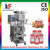 manufacturing automatic tomato paste sachet packing machine price ketchup packing machine                                                                         Quality Choice