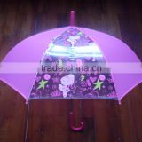High quality transparent umbrella printrd sex beautiful girl pictures