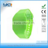 2013 silicone touch screen led watch