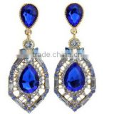 CZ97613 Women Lady bow jewelry Accessory Crystal Rhinestone earrings