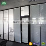 Modern Design Aluminium Living Room Glass Partition