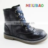 fashion girls new design genuine leather boots baby