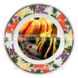 "8"" Blank ceramic plates for sublimation"