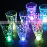 Hot selling colorful plastic led flash mug,led glow party cup