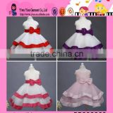 wholesale factory direct baby girl evening dress custom alibaba sleeveless kids birthday party dress