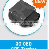 3G Mini OBDII GPS Vehicle Tracker with relay /fuel monitoring/speed limiter / Camera/APP