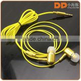 new products 2016 fluorescence earphone for apple metal earbuds glowing headphone for laptop computer