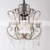 MC4022-1 Small Size Arm Crystal Beaded Vintage Decor Wedding Decoration Crystal Chandelier