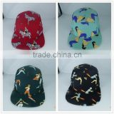 2015 New Arrival Fashion Design High Quality Custom 5 Panel Hats Wholesale, Printed Logo 5 Panel Caps Hot Sale