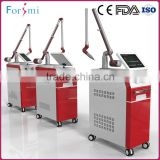 New arrival hot selling CE FDA approved vertical tattoo removal q switched nd yag laser device