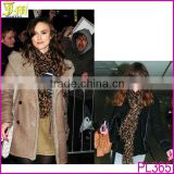 Fashion Women Ladies Brown Leopard Print Soft Long Stole Scarf Shawl Pashmina Wholesale