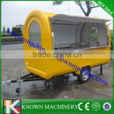 5% disocunt CE food caravan food truck trailer used food trucks for sale