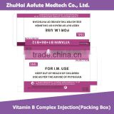 Vitamin B complex & Injection(Packing Box)