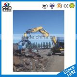 Excavator Hydraulic Rotating Grapple Scrap Grab with best performence