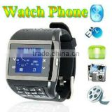 Q8 watch phone quadband single sim card touch screen keypad pinhole webcam gift 1G TF