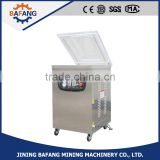 Semi-automatic single chamber table model vacuum machine, desk type vacuum packing machine, perfect vacuum sealer with CE