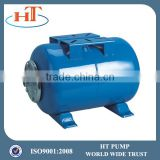 horizontal carbon steel paint pressure tank for water pump H024