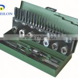 Hand Tool 32pcs Hss Metric/inch Tap And Die Set/Taps And Dies Sets