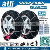 ATLI Alloy steel anti skid snow tire chains for passenger car