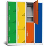 Customized high quality metal locker clothes storage cabinet with 6 door