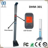 DHM-301 Foldable and portable ultrasonic electronic height and weight scale with printing and bluetooth interface
